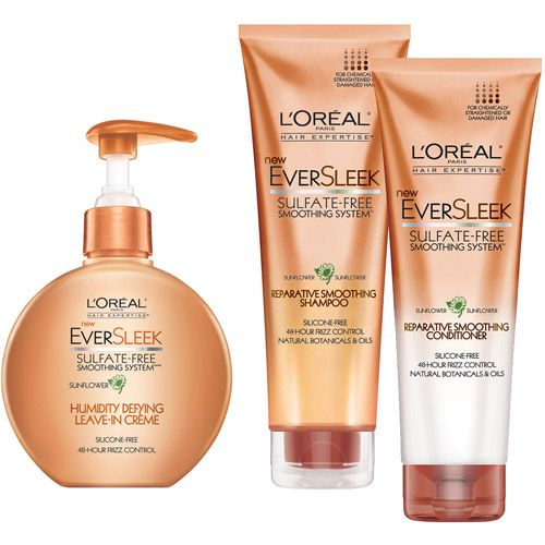 L Oreal Eversleek Sulfate Free Repair Hair Care Seriously Comparable To