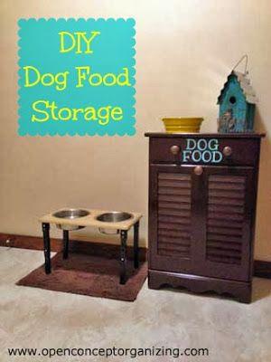 Open Concept Organizing: Dog Food Dilemma