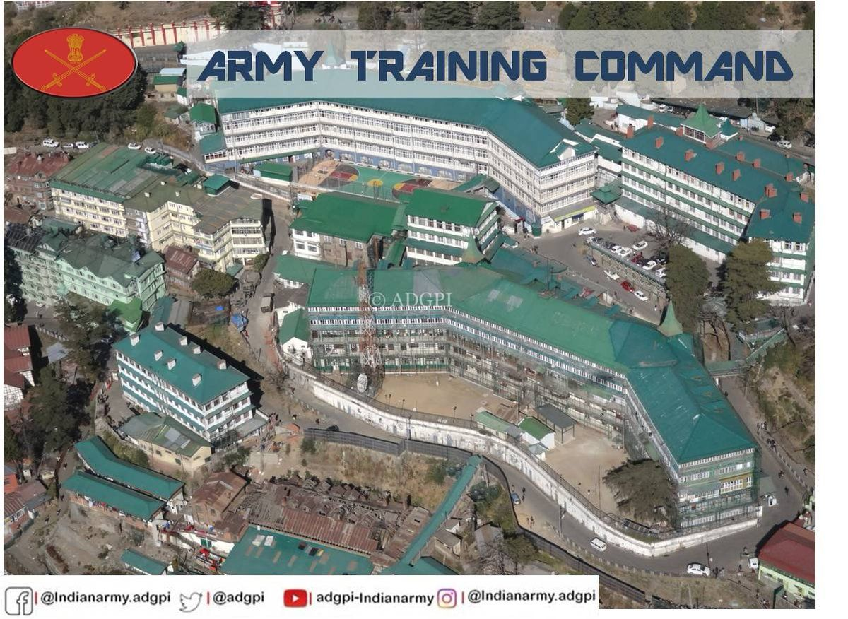 Army Training Command known as ARTRAC was raised in 1991 at Mhow and