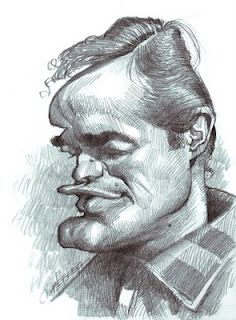 Artist:Jan Op De Beeck   Caricature:Marlon Brando