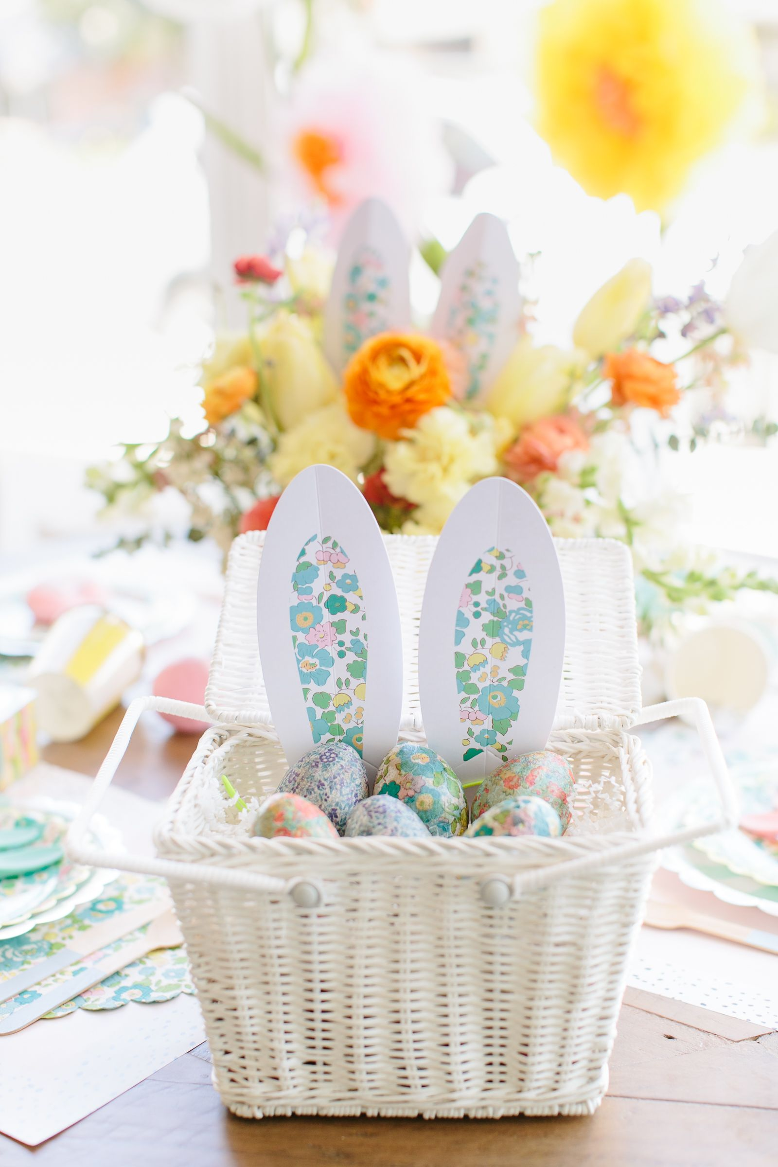 Florally fun easter party project nursery easter and easter party easter party negle Image collections