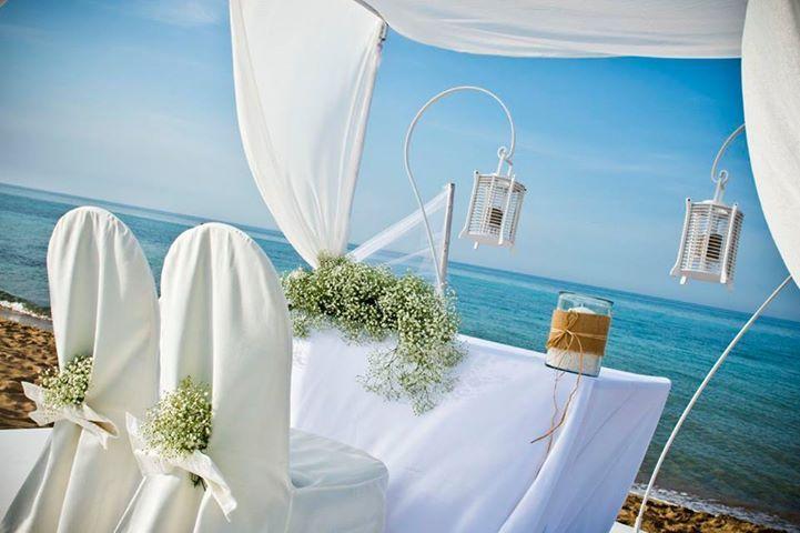 wonderful beach wedding in Italy