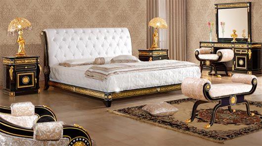 Swarovski 2 Luxury Series Luxury Italian Style Bedroom Sets Italian Bedroom Furniture King Bedroom Furniture Italian Bedroom Sets