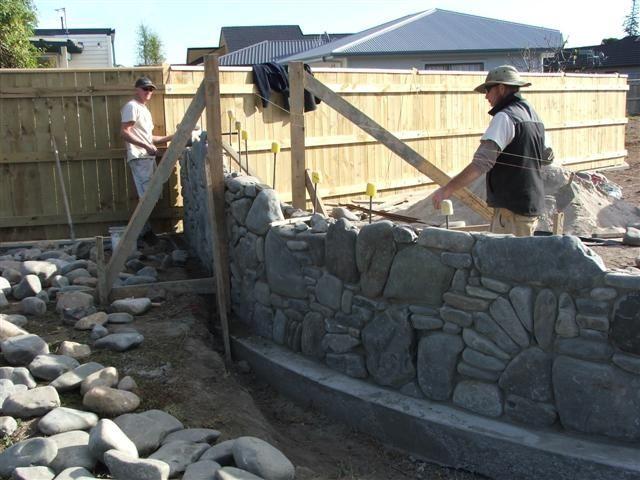 rock walls building - Google Search