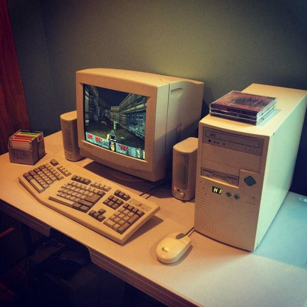 Große graue Klötze als Computer haben, weil was denn auch sonst: 34 Dinge, von denen Kinder heute nicht glauben, dass wir sie mal gemacht haben #90'stoys