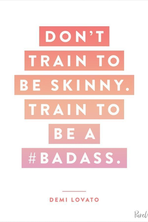 10 Celebrity Workout Quotes to Inspire Your Next Sweat Sesh #purewow #fitness #quotes #celebrity #wo...