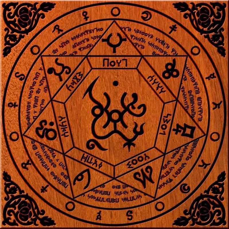 знаки печати магия демонология фото