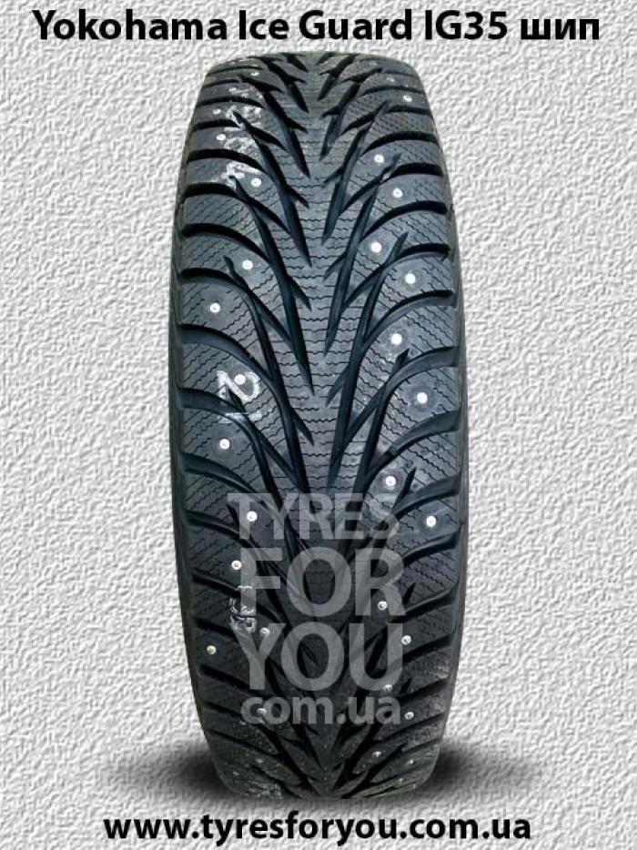 Зимние шипованные шины Yokohama Ice Guard IG35 шип