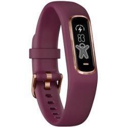 Fitness-Tracker | Fitness Armbänder -  Garmin vivosmart 4 S / M Fitness-Tracker dunkelrot GarminGarm...