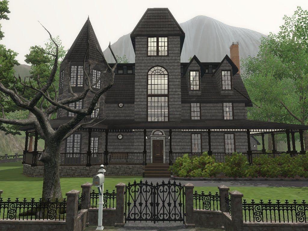 The Sims 3 Haus Of Schwartz Haunted House Megan