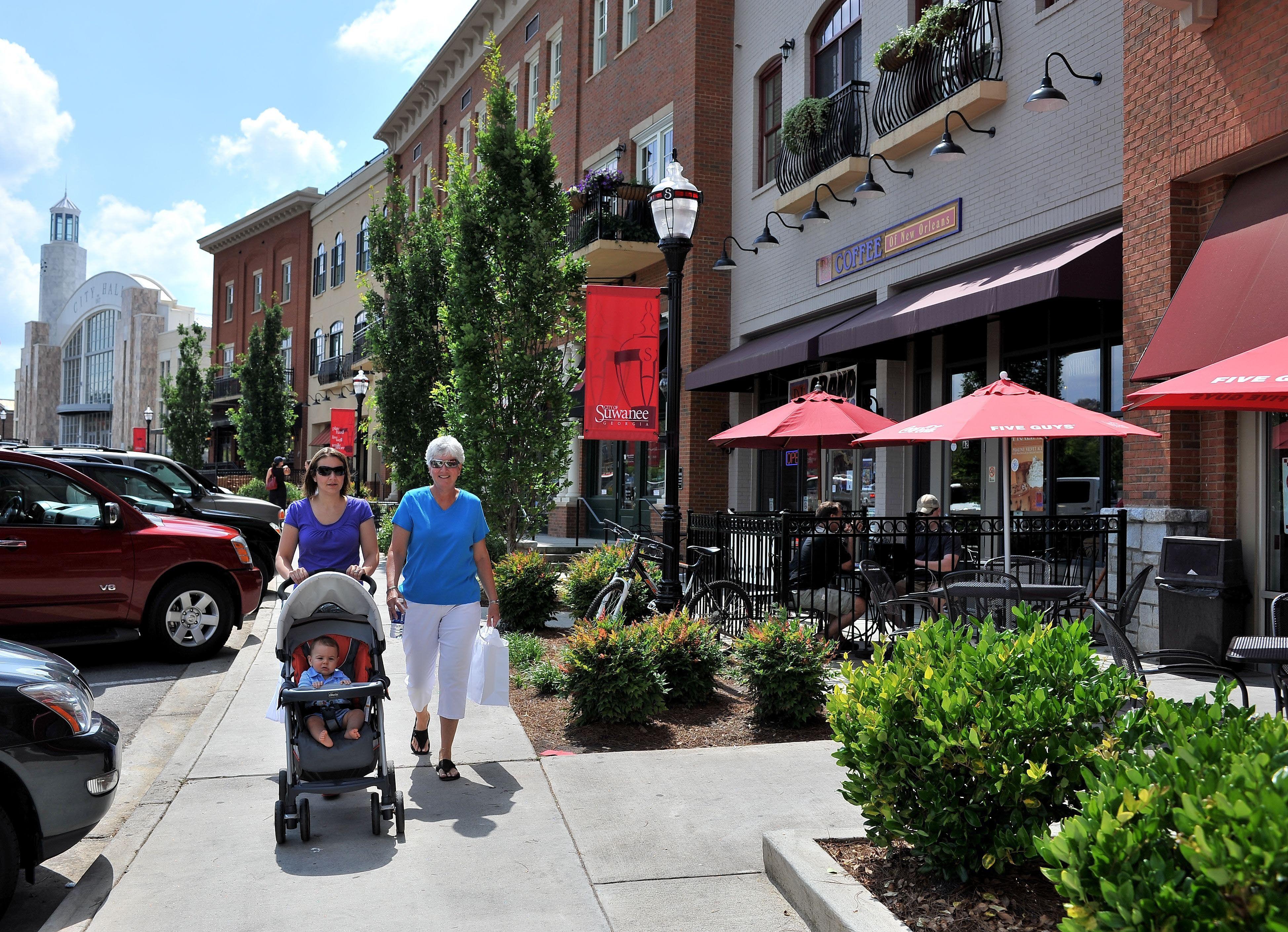 Suwanee, GA: The heart of Suwanee, the Town Center houses