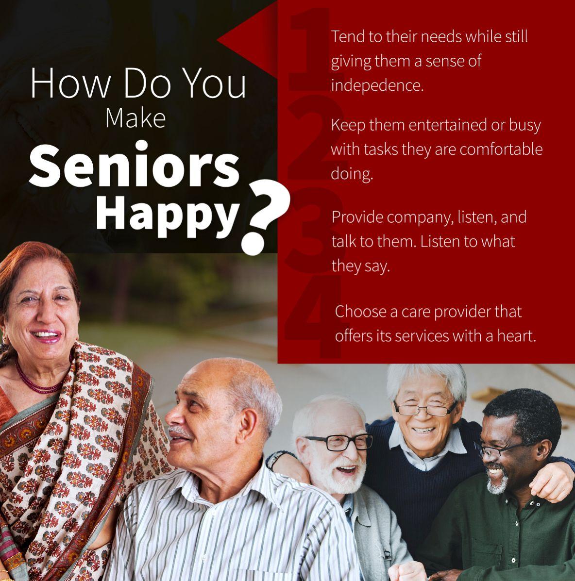 How Do You Make Seniors Happy?