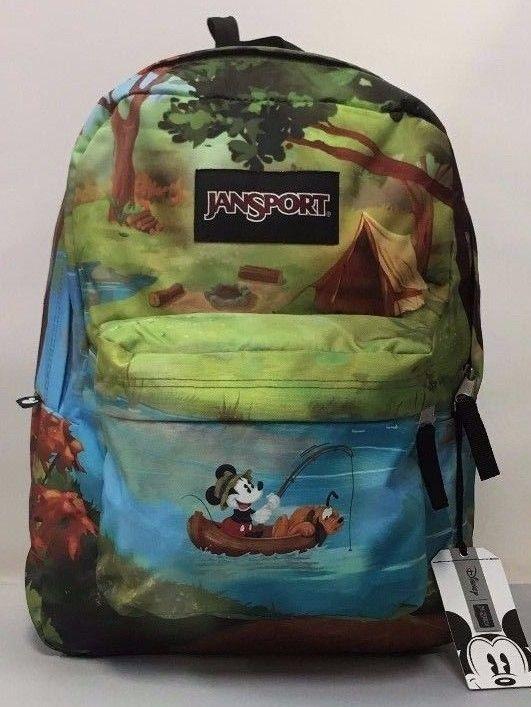 035f947af3 JanSport Unisex Disney High Stakes Forest Camp Backpack