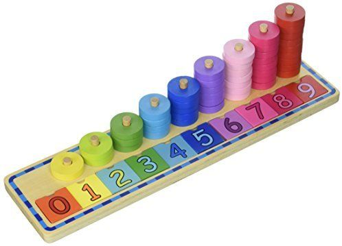 Tooky Toy Juego Educativo De Madera Para Aprender A Apilar Y