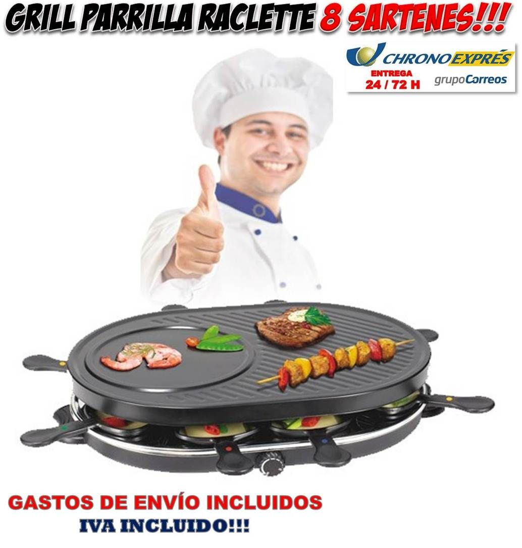 explore raclette parrilla and more