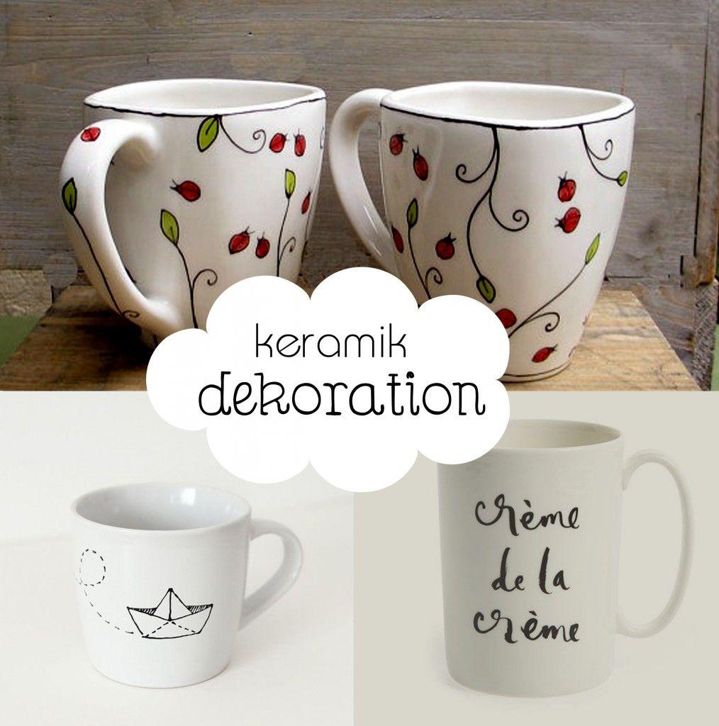 Schon Kreative Keramik Dekoration: Dekoideen | Aequivalere