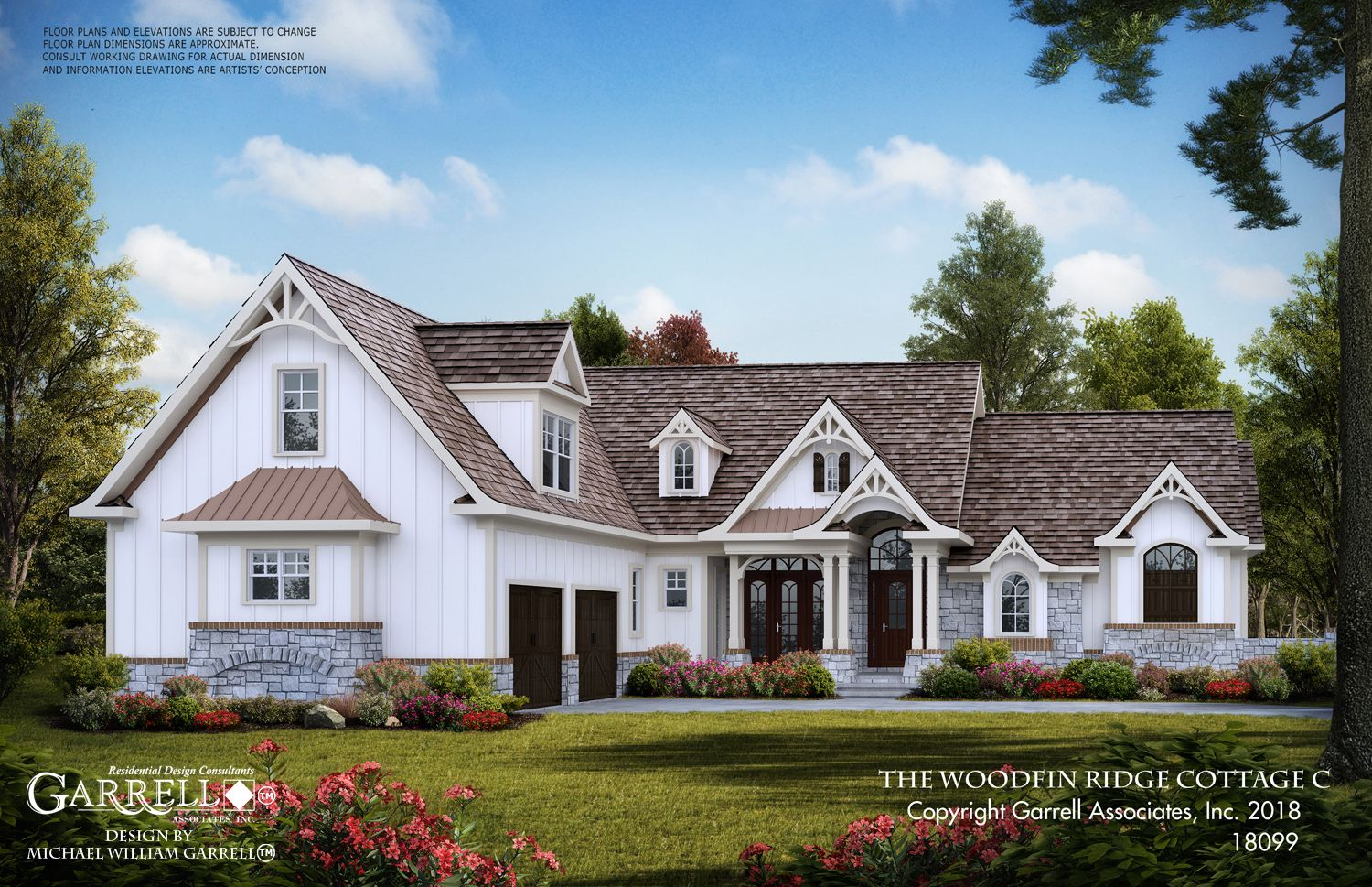 Woodfin Ridge Cottage C 18099 Garrell Associates Inc Maine House Craftsman Style House Plans Craftsman House