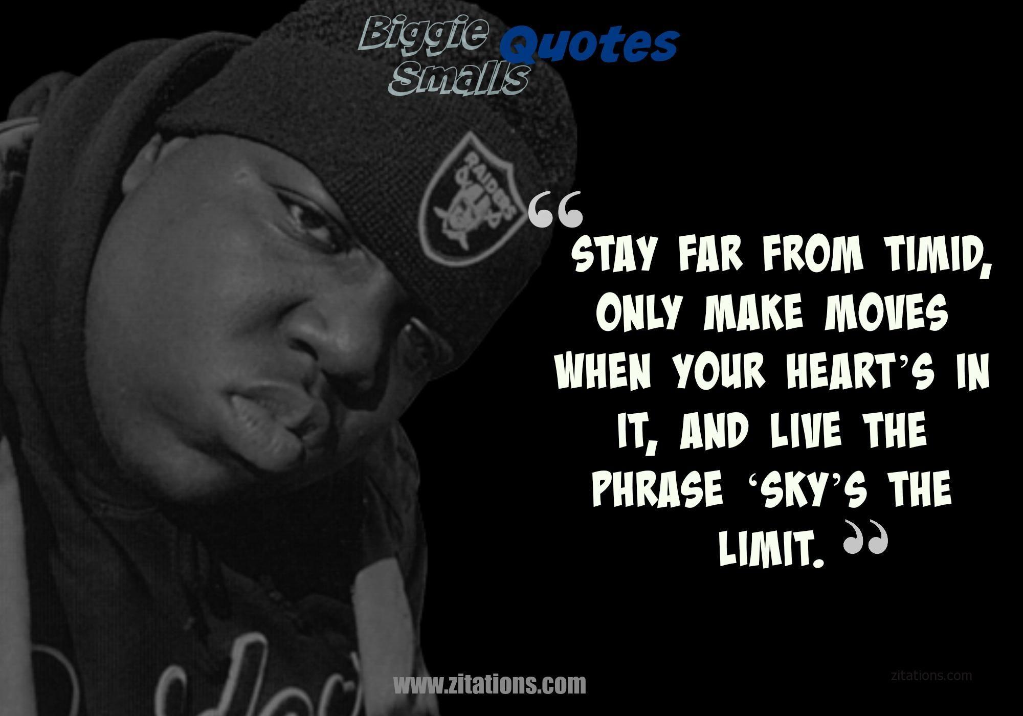 Biggie Smalls Quotes Biggie Smalls Quotes Notorious Big Quotes Life Quotes