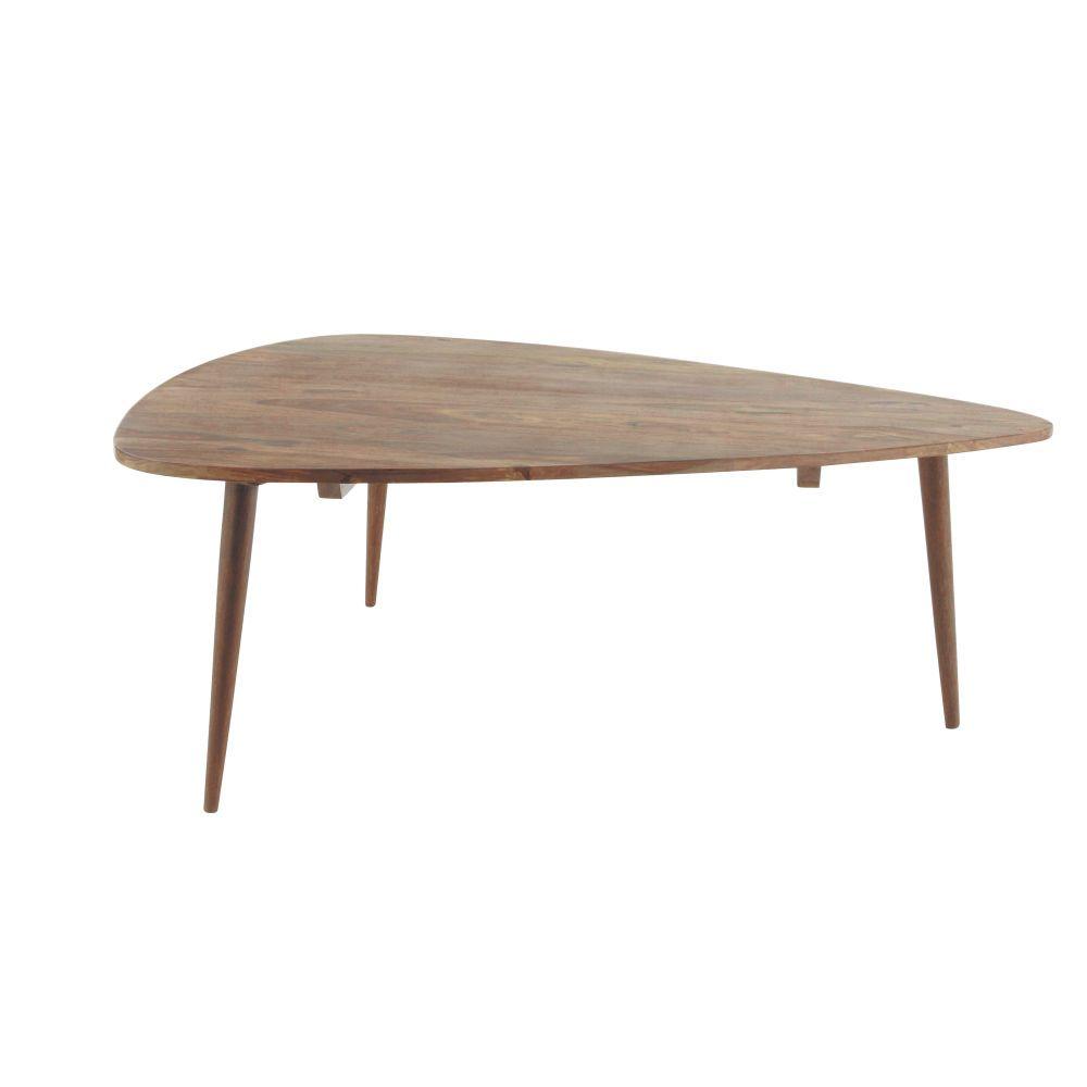 Table Basse Vintage En Sheesham Massif Avec Images Table Basse Vintage Table Basse Maison Du Monde Table Basse