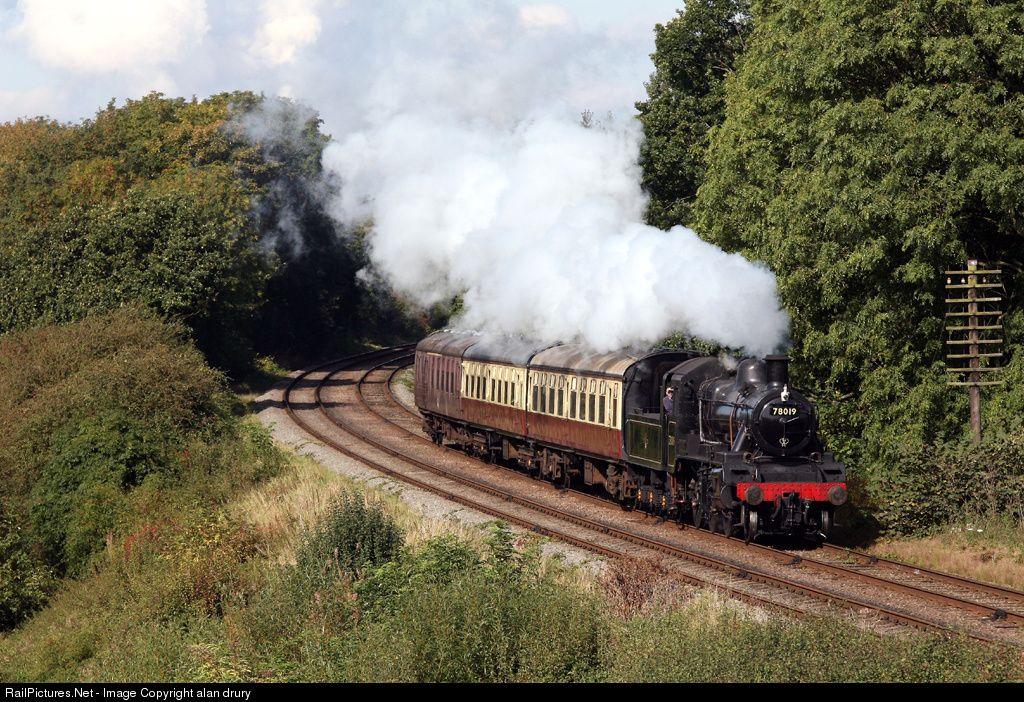 RailPictures.Net Photo: 78019 Great Central Railway Steam 2-6-0 at Quorn,Leicstershire, United Kingdom by alan drury