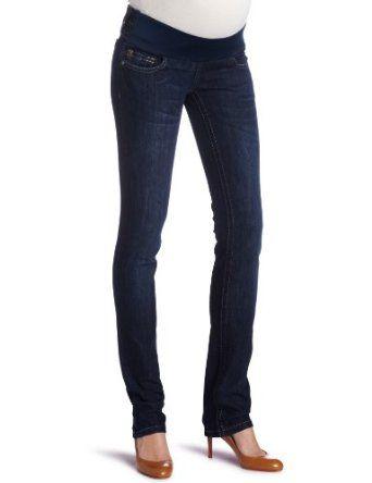 65b134b2de552 DL1961 Women's Kate Maternity Slim Straight Contrast Jean | What I ...