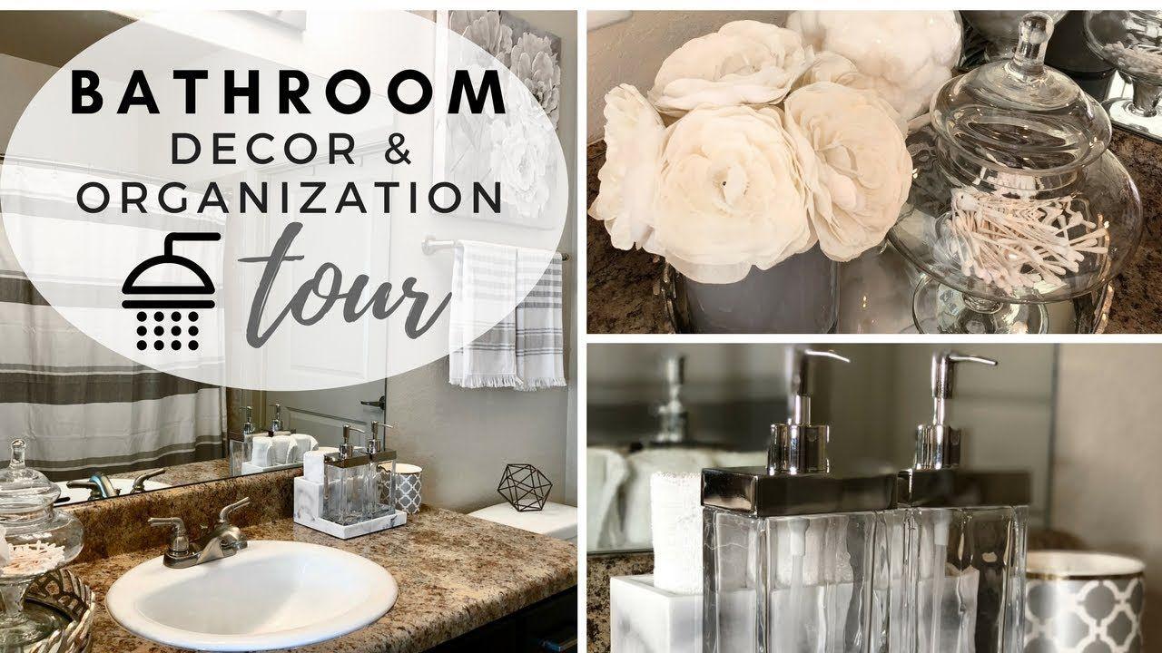 Bathroom Decorating Ideas Tour 2018 Youtube Bathroom Decor