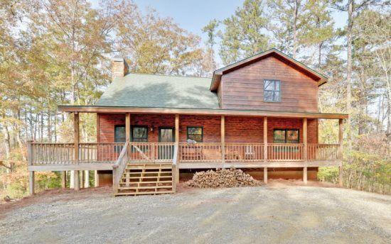 Linwood Lodge Private And Secluded Blue Ridge Cabin Rental Only 5 Minutes From Downtown Georgia Mountain