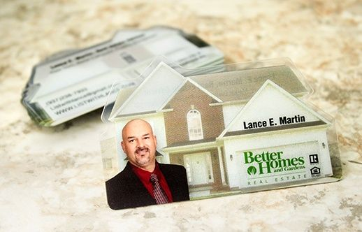 The top 20 unique realtor plastic business cards real estate house shaped business card colourmoves