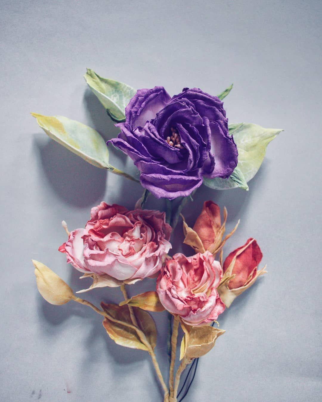 Chcecie Czasami Zrobic Piekne Kwiatowe Zdjecie Na Instagrama No Ale Wlasnie Nie Macie Kwiatow Problem R Handmade Flowers Paper Flowers Flat Lay Photography