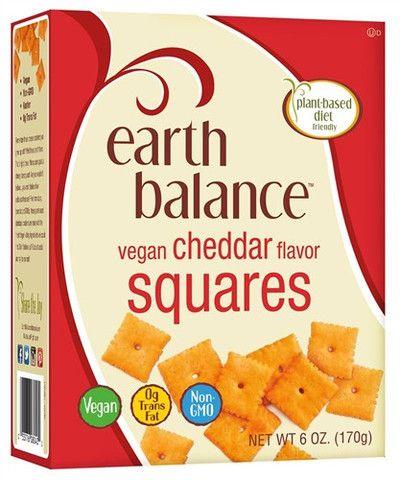 Earth Balance Vegan Cheddar Squares