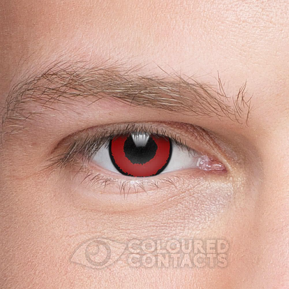Voldemort 1 Year Coloured Contact Lenses Red Contact Lenses Colored Coloured Contact Lenses Contact Lenses