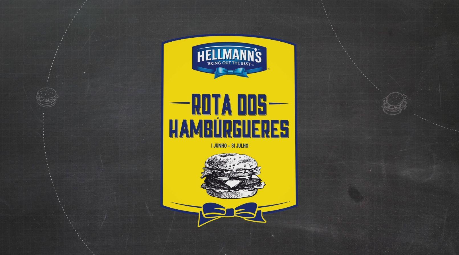 Spot Publicitário para a Unilever que promove a Rota dos Hambúrgueres Hellmann's que reúne 52 hamburguerias gourmet das cidades de Lisboa e Porto