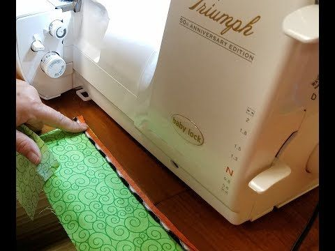 Corded wave piping with debi kuennen baker youtube sewing