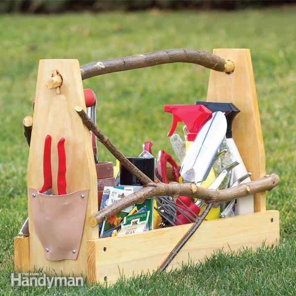 Garden Hand Tools Make A Handmade Toolbox