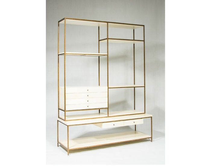 products by stylish forms saxona are modern brass the furniture featuring and lg supported cantilevered shelving bookcase augustine console contemporary