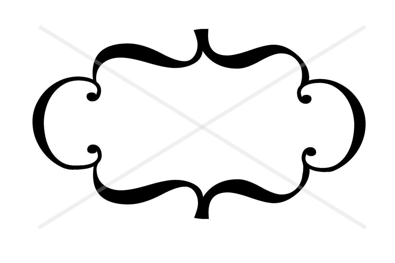 Fancy Border Frame Decoration Clip Art By Smilesandsquiggles 2 00 Clip Art Borders Clip Art Borders And Frames Clip Art