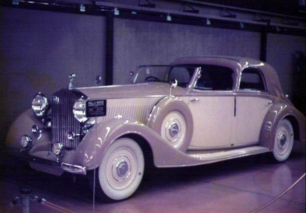 Franay Rolls Royce Phantom Iii Sedanca Deville Rolls Royce