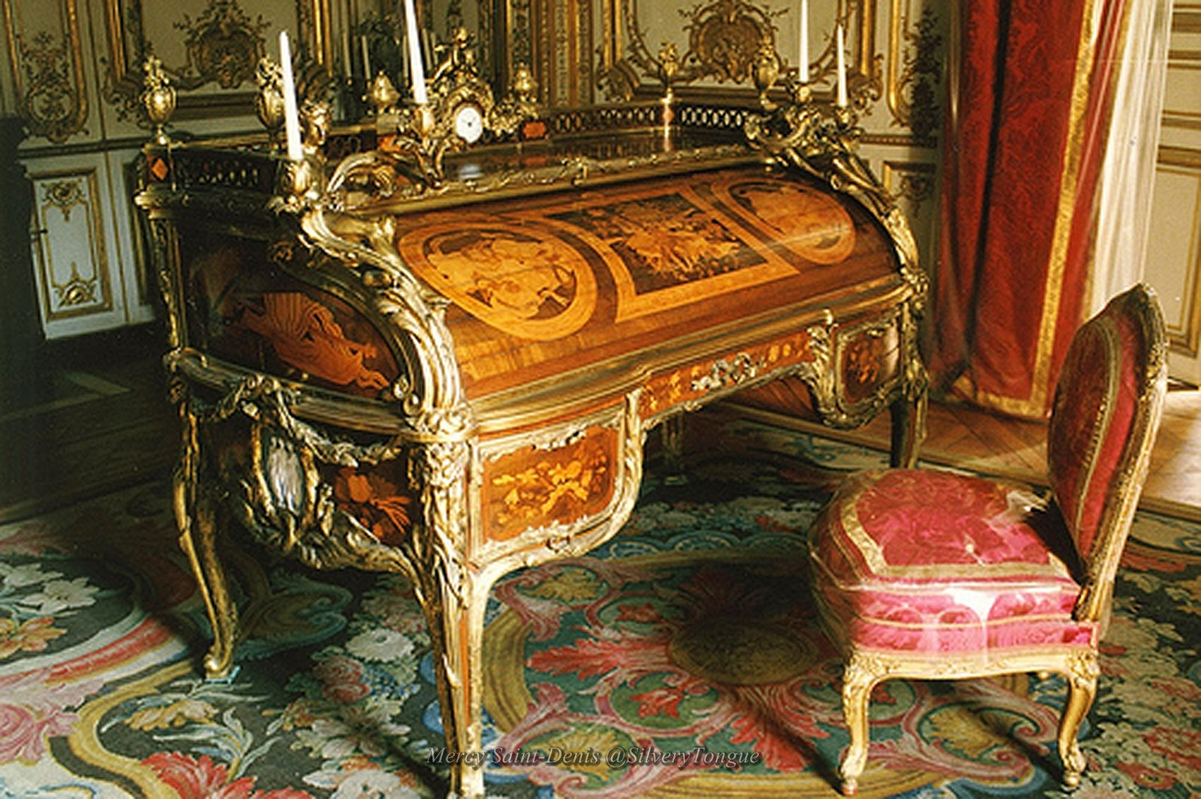 Louis Xiv Writing Desk Versailles