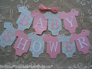 baby shower banners diy