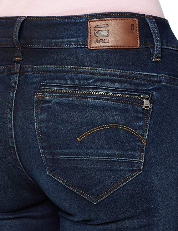 online retailer d4180 159d8 G-STAR RAW Damen Skinny Jeans Midge Zip Mid Wmn: Amazon.de ...
