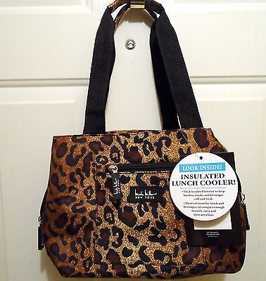 6aec1e7c31 Nicole Miller Leopard Print Inslated Lunch Bag  4 in 2019