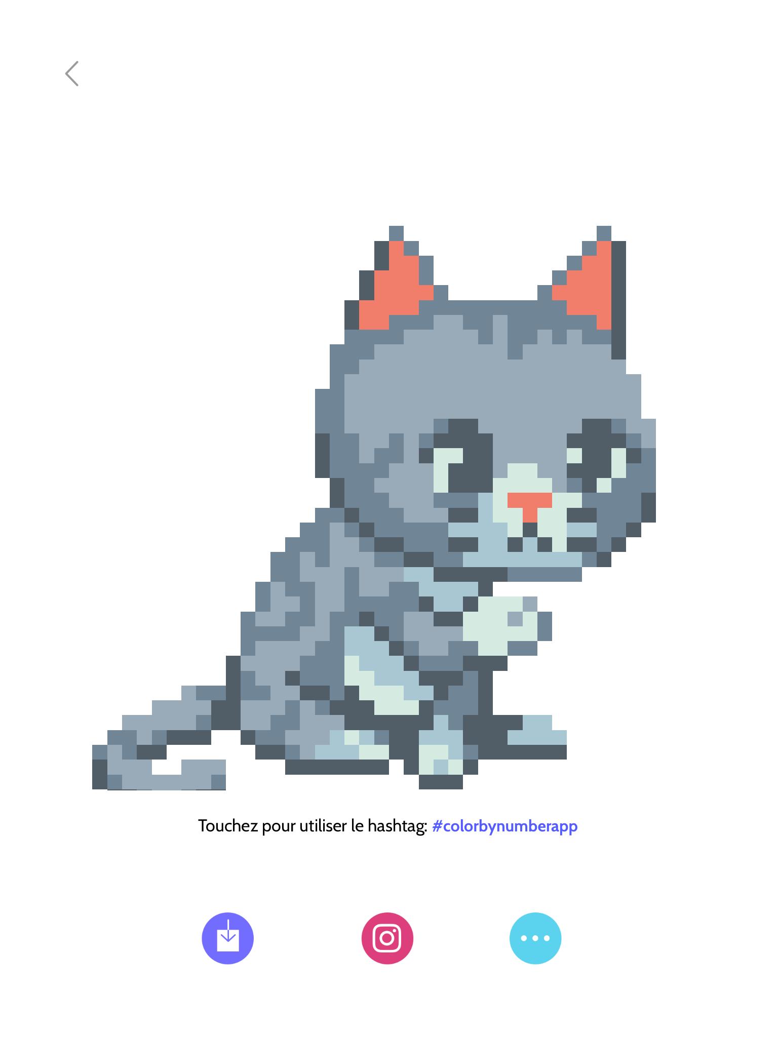 Pixel Art Chaton Trop Mignon