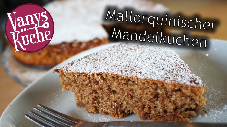 Saftig und lockerer Mandelkuchen - glutenfrei, ohne Mehl #mandelkuchen #mallorquinisch #glutenfrei #ohnemehl #vanyskueche #foodblog #foodblogger_de #foodblogger #rezepte