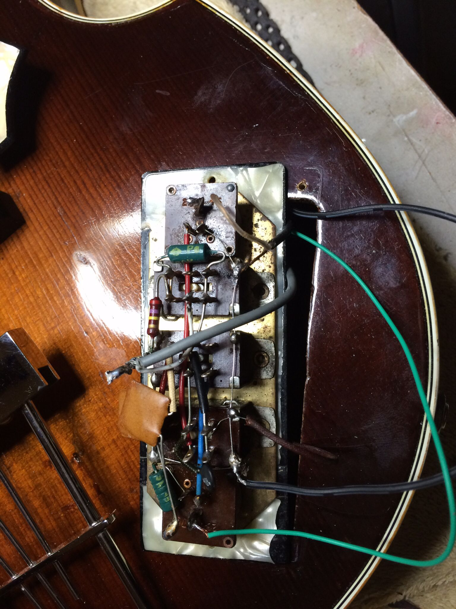 Violin Bass Wiring Experience Of Diagram Hofner 500 1 For Control Panel Guitars Guitar Rh Pinterest Com