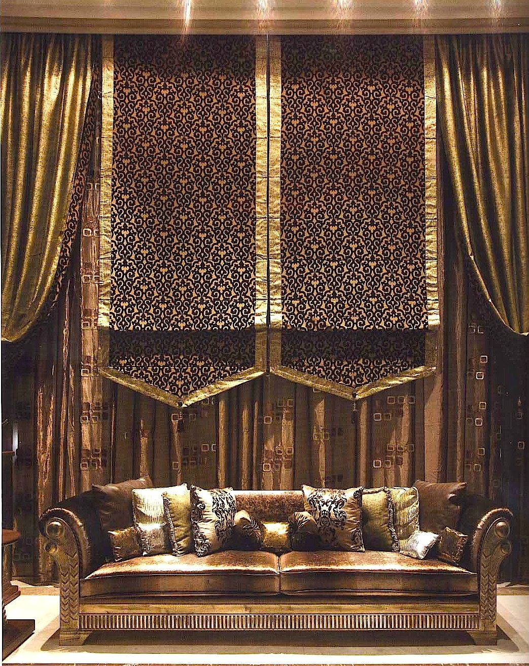 Curtains From The Middle East