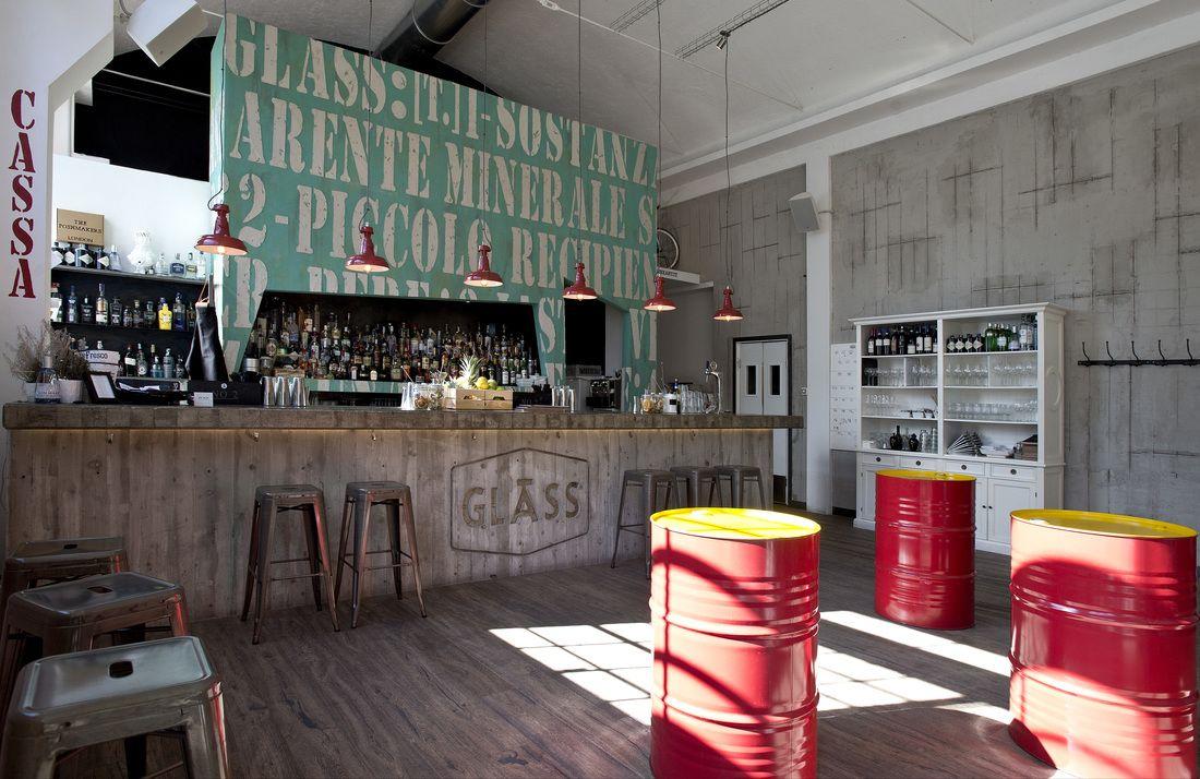 Arredamento in stile industriale cavatella pinterest for Bar stile industriale