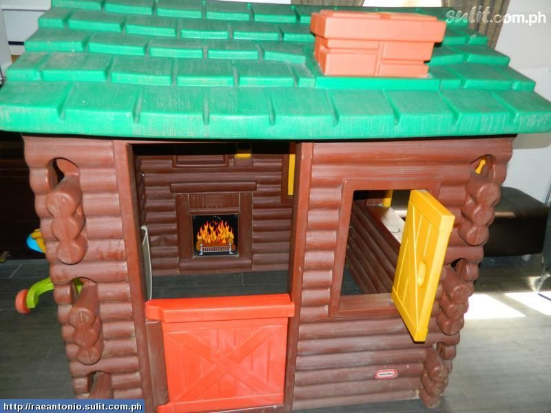 Little Tikes Log Cabin Im Missing The Fire Sticker In Mine Hmm