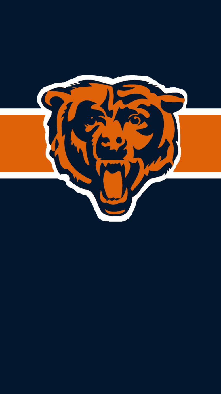 Chicago Bears Iphone Wallpapers Chicago Bears Wallpaper Bear Wallpaper Chicago Wallpaper