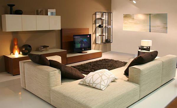 17 Bachelor Pad Decorating Ideas Urban Living Room Design Small Apartment Living Room Contemporary Living Room Design