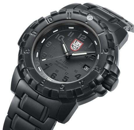 1b2dc8f686c Luminox Launches New BlackOut Series for Fall